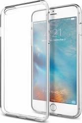 Skin Spigen Liquid Crystal iPhone 6 Plus 6S Plus Transparent Huse Telefoane