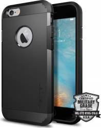 Skin Spigen Tough Armor iPhone 6 6s Negru Huse Telefoane