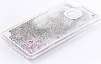 Skin Tellur Huawei P9 Lite cu lichid Alb Huse Telefoane