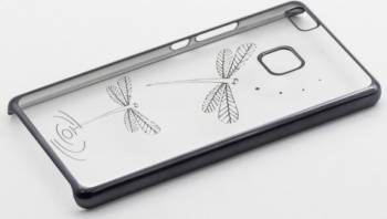 Skin Tellur Huawei P9 Lite Libelula Negru Huse Telefoane