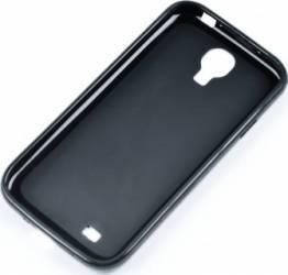 Skin Tellur pentru Samsung Galaxy S4 Mini i9190 Negru Huse Telefoane