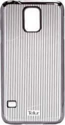 Skin Tellur Samsung S5 G900  Vertical Stripes Negru Huse Telefoane
