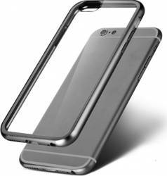 Skin OEM Hybrid TPU iPhone 6 Plus Space Gray huse telefoane