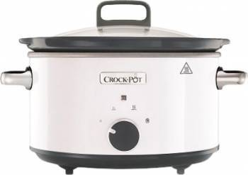 Slowcooker Crockpot CSC030X-DIM 210W 3 5L Functie Pastrare la cald Alb Multicooker