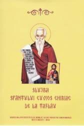 Slujba Sfantului Cuvios Chiriac de la Tazlau