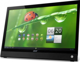 imagine Monitor LED 22 Acer DA220HQLbmiacg Full HD Android Touch - Black um.wd0ee.001