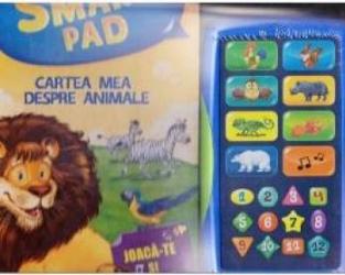 Smart Pad - Cartea mea despre animale. Joaca-te si asculta