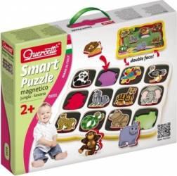 Smart Puzzle - Savana Quercetti Puzzle si Lego