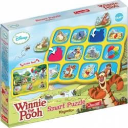 Smart Puzzle - Winnie the Pooh Quercetti Puzzle si Lego