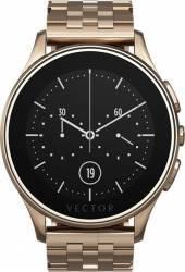 Smart Watch Vector Luna 44mm Aur Roz Curea Metalica Aur roz