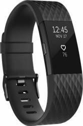 Smartband Fitbit Charge 2 HR Special Edition L Gunmetal Negru Smartwatch
