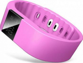 SmartBand Fitness Cronos Smart + Heart Rate Magenta Resigilat Smartwatch