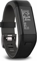 SmartBand Garmin VivoSmart HR+GPS Regular Black-Gray Smartwatch