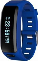 Smartband NO1 Band F1 Bluetooth Push Albastru smartwatch