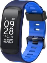 Smartband NO1 F4 Bluetooth HR Negru Albatru Smartwatch