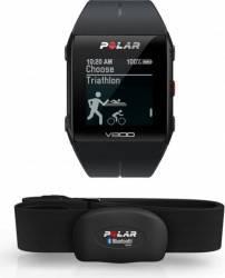 Smartband Polar V800 GPS Negru + Senzor HR Polar H7 Smartwatch