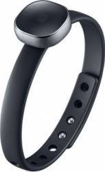 Bratara Fitness Samsung Wristband Smart Charm Silicon Black Resigilat