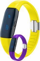 Pedometru Trisa 3D Activity Tracker Galben-Violet Gadgeturi