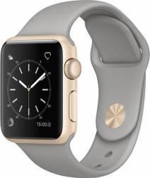 Smartwatch Apple Watch 1 Aluminiu Auriu 38MM Si Curea Sport Gri - MNNJ2