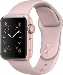 Smartwatch Apple Watch 1 Aluminiu Roz 38MM Si Curea Sport Roz MNNH2