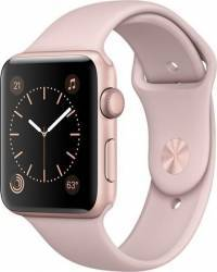 Smartwatch Apple Watch 2 Sport 42mm Aluminiu Roz Curea Silicon Roz - MQ142