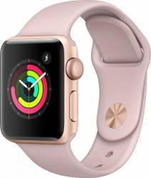 Smartwatch Apple Watch 3 GPS 38mm Gold Aluminium Case with Pink Sand Sport Band Smartwatch