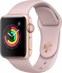 Smartwatch Apple Watch 3 GPS 38mm Gold Aluminium Case with Pink Sand Sport Band Smartwatch
