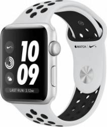 Smartwatch Apple Watch Nike Plus GPS 42mm Silver Aluminium Case with Pure Platinum/Black Nike Sport Band Smartwatch
