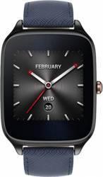 SmartWatch Asus Zenwatch 2 WI501Q Negru Curea Piele Albastra Resigilat Smartwatch