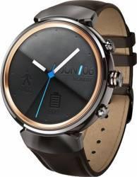 SmartWatch Asus ZenWatch 3 WI503Q Otel Inoxidabil si Curea Piele Maro Smartwatch