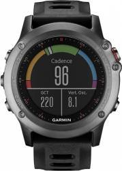 pret preturi Smartwatch Garmin Fenix 3 GPS Curea Silicon Negru