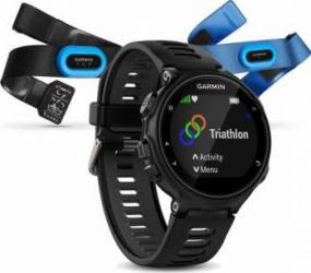 Smartwatch Garmin Forerunner 735XT HR Triathlon Black Smartwatch