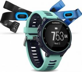 Smartwatch Garmin Forerunner 735XT HR Triathlon Midnight Blue Smartwatch