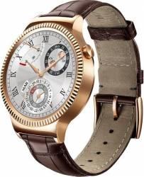 Smartwatch Huawei W1 Otel Inoxidabil Auriu Bratara Piele Maro