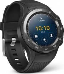 pret preturi Smartwatch Huawei Watch W2 Bluetooth Carbon Black Sport Strap