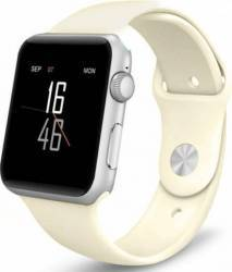 Smartwatch iWearDigital A1 cu SIM - Alb Crem smartwatch