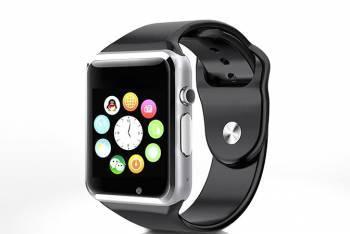 Smartwatch Iweardigital A1 Cu Sim - Argintiu Bonus Cartela Prepaid Vodafone Power