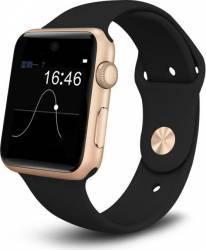 Smartwatch iWearDigital A1 cu SIM - Gold Black smartwatch