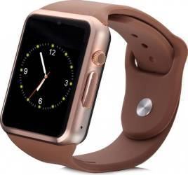 Smartwatch iWearDigital A1 cu SIM - Gold Brown smartwatch