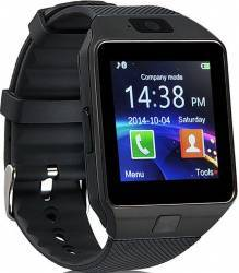 Smartwatch Iweardigital Dz09 Black Bonus Cartela Prepaid Vodafone Power