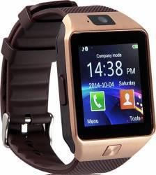 Smartwatch Iweardigital Dz09 Gold Bonus Cartela Prepaid Vodafone Power