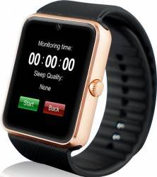 Smartwatch iWearDigital GT08 cu SIM - Auriu Smartwatch