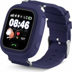 SmartWatch iWearDigital Kids G32 cu GPS SIM si WI-FI - Albastru inchis smartwatch