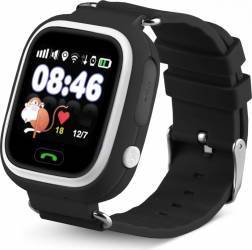 SmartWatch iWearDigital Kids G32 cu GPS SIM si WI-FI - Negru Smartwatch