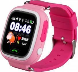 SmartWatch iWearDigital Kids G32 cu GPS SIM si WI-FI - Roz smartwatch