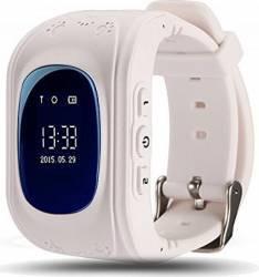 SmartWatch iWearDigital Kids Q50 cu GPS si SIM - Alb Smartwatch