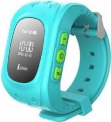 SmartWatch iWearDigital Kids Q50 cu GPS si SIM - Albastru Smartwatch