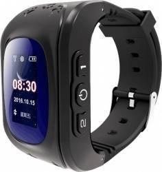 SmartWatch iWearDigital Kids Q50 cu GPS si SIM - Negru Smartwatch