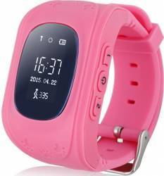 pret preturi SmartWatch iWearDigital Kids Q50 cu GPS si SIM - Roz