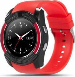 SmartWatch iWearDigital V8 cu SIM - Rosu Smartwatch